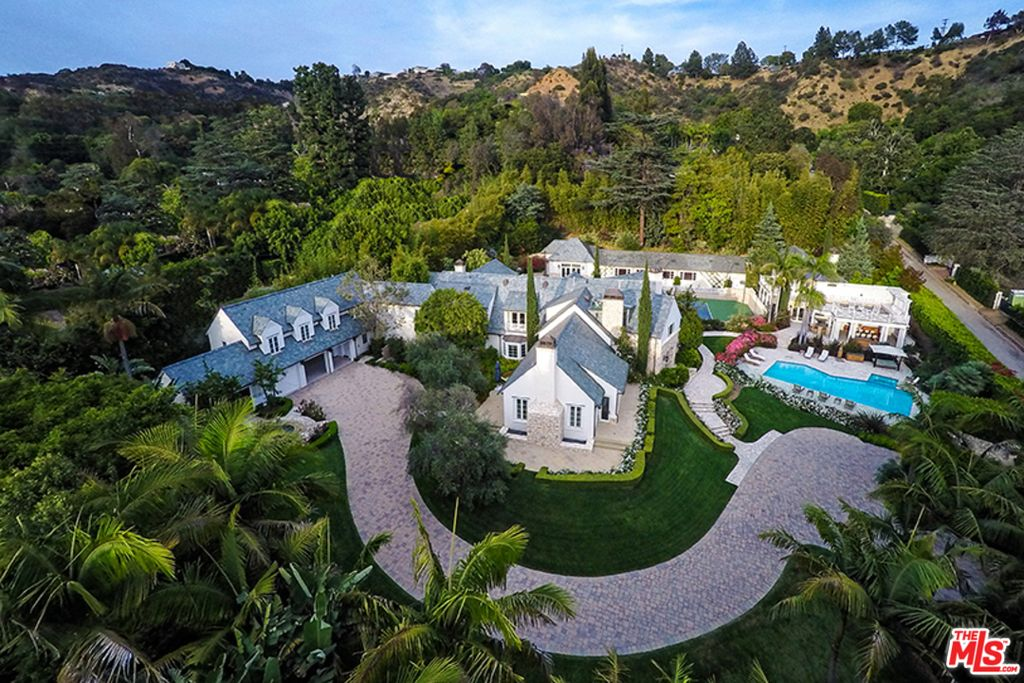 Attal's Coldwater Canyon estate