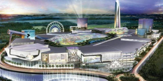 Rendering of American Dream Miami
