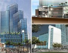 Renderings of the Marriott Marquis Miami Worldcenter Hotel & Expo