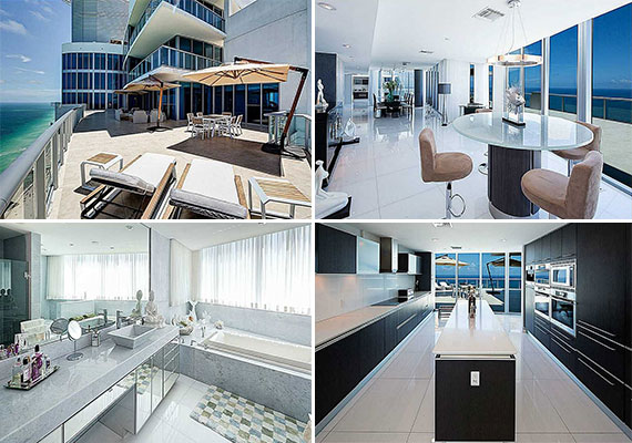 Unit 4905 at the Jade Beach condo tower in Sunny Isles Beach