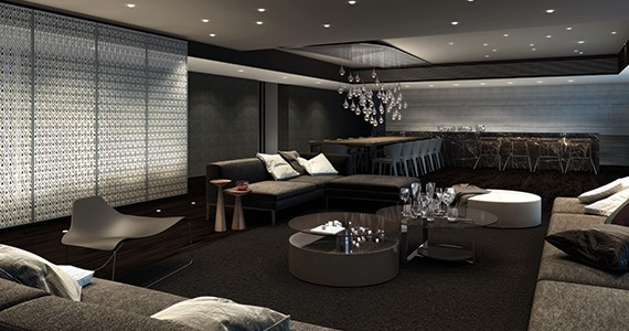 Rise party room