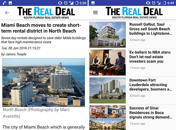 The Real Deal mobile app is now available on Android devices