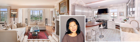 Linda Stein and the duplex Fifth Avenue apartment