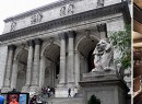 From left: Norman Foster, the New York Public Library and a project rendering (source: Curbed)