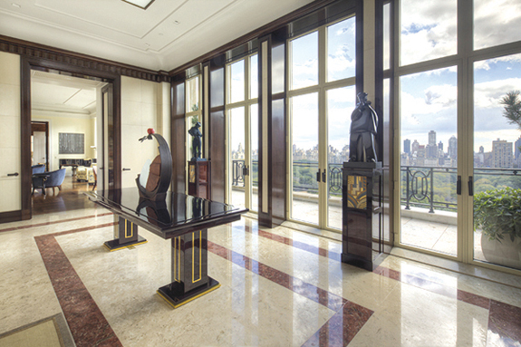 Top residential deal nyc top residential deal 2013 for Central park penthouses