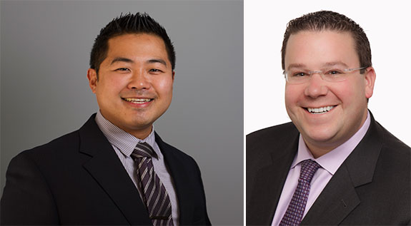 From left: Alex Cho and Seth Hirschhorn