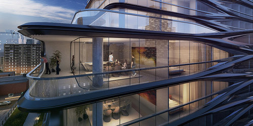 Rendering of 520 West 28th Street
