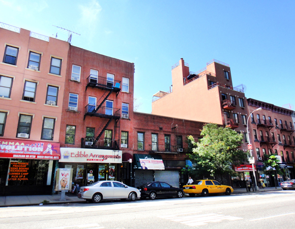 A low-rise, two story building at 1790 Third Avenue