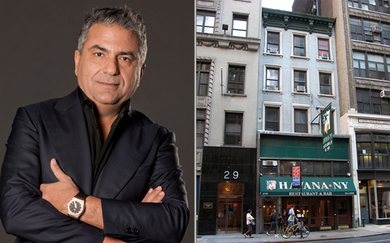 Morris Moinian and Havana Restaurant at 27 West 38th Street