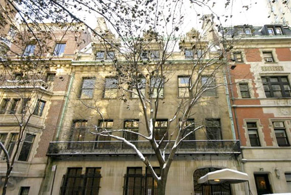 The Harkness mansion on the Upper East Side