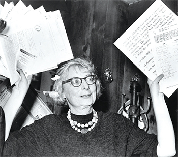 Jane Jacobs in 1961