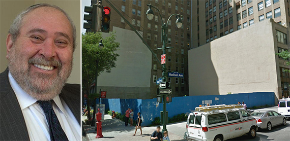 From left: Yitzchak Tessler and 172 Madison Avenue