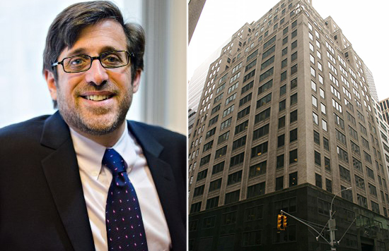From left: Colliers' Michael Cohen and 485 Madison Avenue
