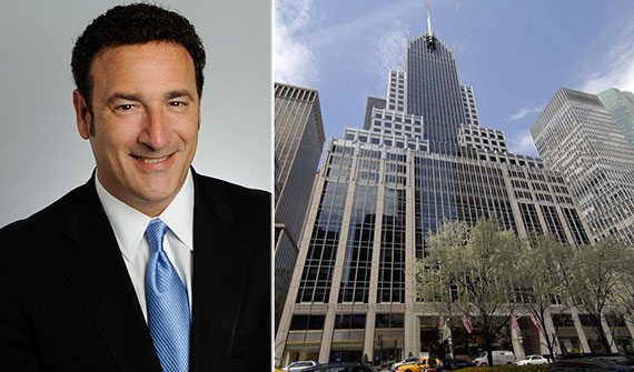 Savills Studley's Ken Ruderman and 320 Park Avenue