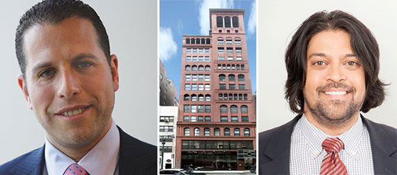 From left: Josh Zegen, the Morgan Lofts at 11 East 36th Street and Michael Shah