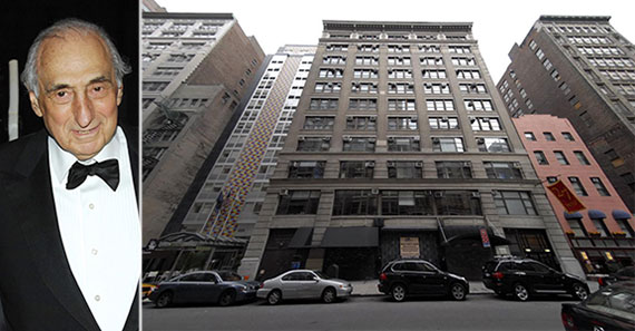 From left: George Kaufman and 27 West 24th Street
