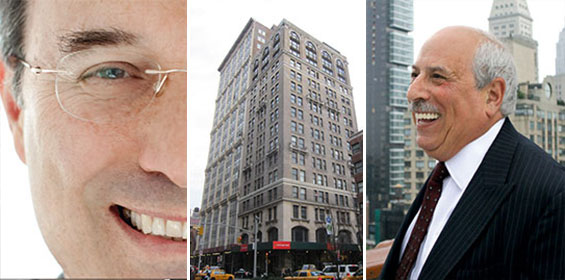 From left: Gary Barnett (Credit: STUDIO SCRIVO), 251 Park Avenue South and Frank Ring