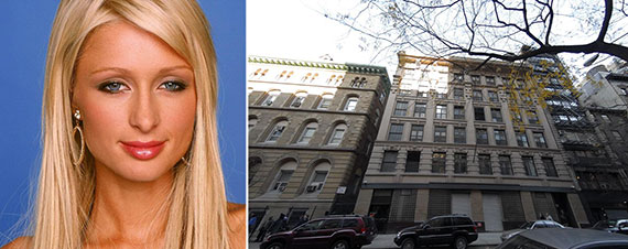 From left: Paris Hilton and 35 West 15th Street