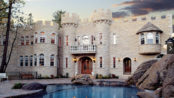 Unusual Homes Castle Homes