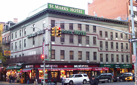 The St. Mark's Hotel (Photo: Beyond My Ken)