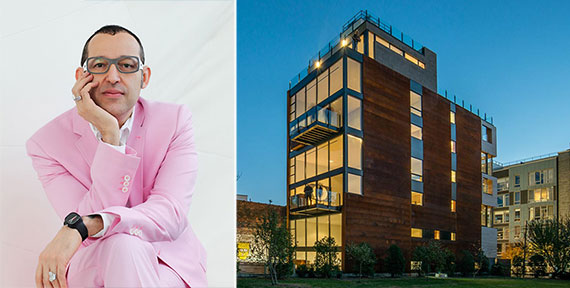 From left: Karim Rashid and 201 North 11th Street