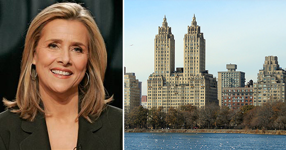 Meredith Vieira and the El Dorado at 300 Central Park West