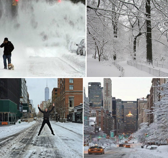 Winter Storm Juno in New York City (credit: Instagram)