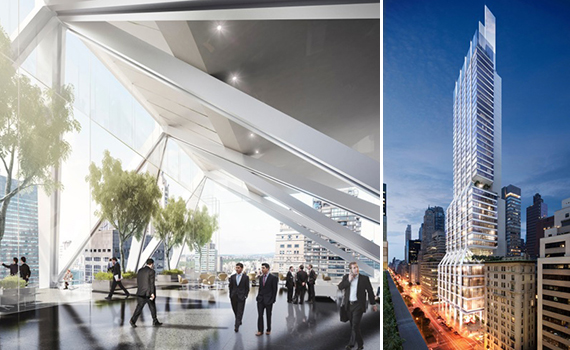 Renderings of 425 Park Avenue