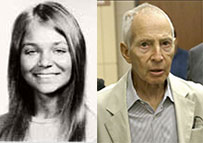 From left: Lynne Schulze and Robert Durst