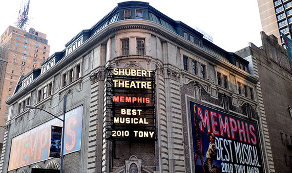 The Shubert Theatre on West 44th Street