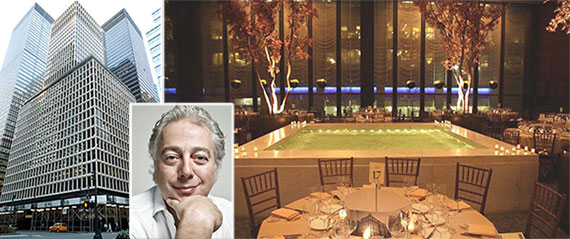From left: 280 Park Avenue, Aby Rosen and the Pool Room at the Four Seasons