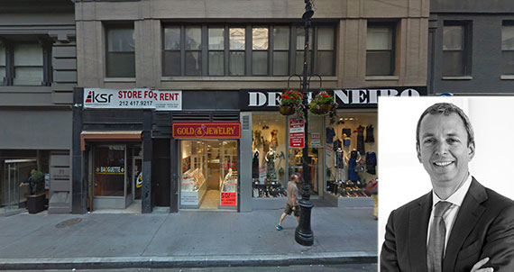 From left: 75 Nassau Street and Metin Negrin