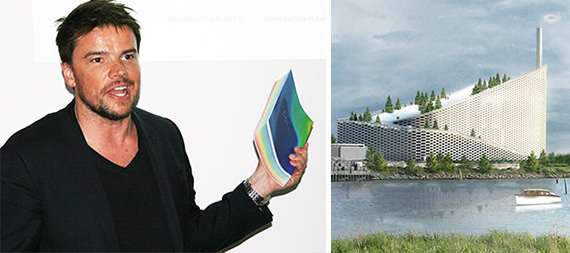 Bjarke Ingels (Credit: Rich Bockmann) and a rendering of the Danish National Maritime Museum (Credit: Bjarke Ingels Group)