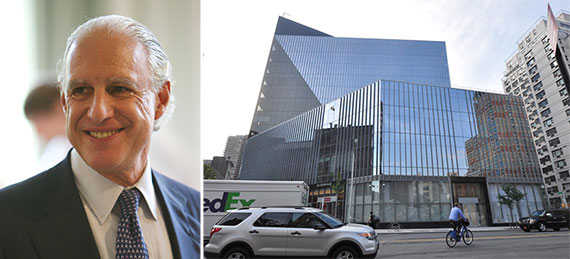 From left: Edward Minskoff and 51 Astor Place