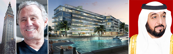 5 Madison Avenue, Ian Schrager (credit: STUDIO SCRIVO), Edition hotel in Miami Beach and ADIA's Sheikh Khalifa
