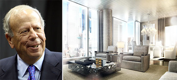 From left: Houston Rockets owner Leslie Alexander and an apartment at the Baccarat at 20 West 53rd Street