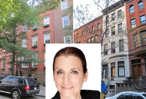 From left: 42 West 71st Street, Donna Olshan and 340 West 12th Street
