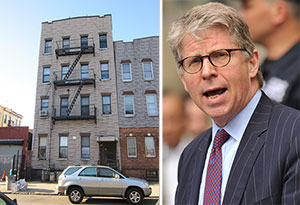 From left: 159 Suydam Street and Cyrus Vance
