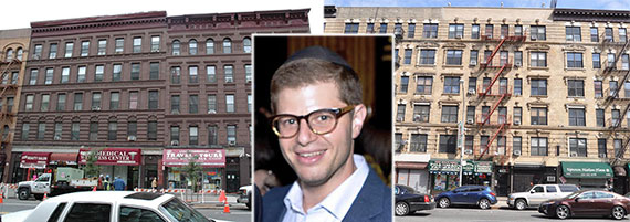 From left: 220 West 116th Street, Steven Vegh and 449 West 125th Street