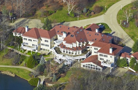 50 Cent's 53-room home in Connecticut