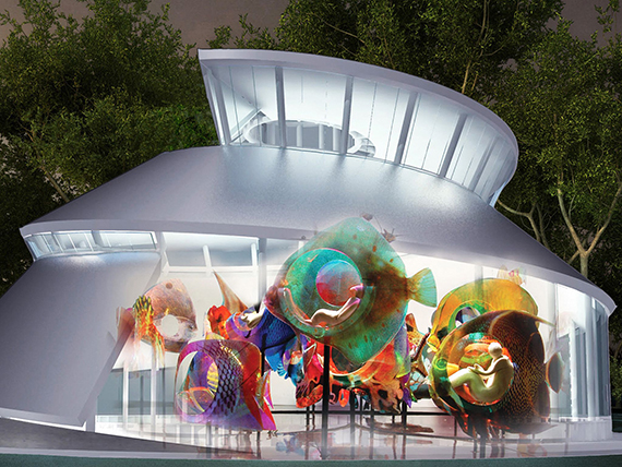 SeaGlass Carousel (credit: Urban Design)