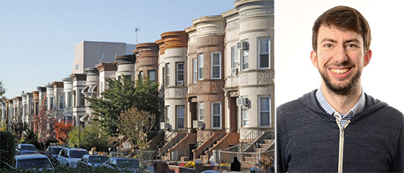 From left: townhouses in Crown Heights (credit: Airbnb) and Brad Hargreaves