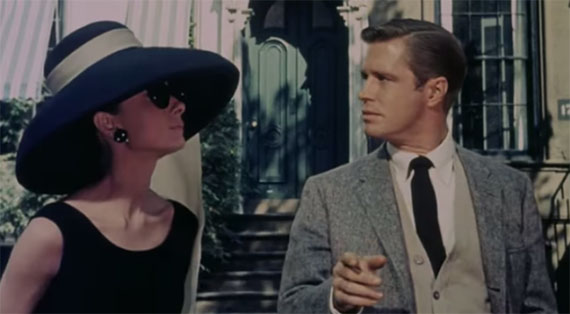 Still from Breakfast at Tiffany's in front of 169 East 71st Street on the Upper East Side