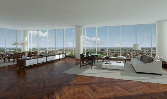 A luxury apartment in One57