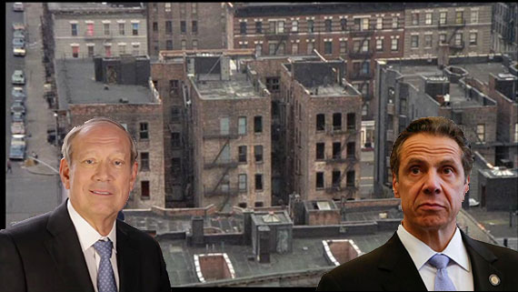 George Pataki and Andrew Cuomo