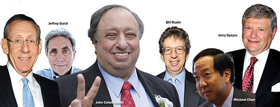 Real estate presidential election donors
