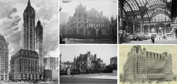 Historic buildings that once called NYC home