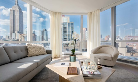 The penthouse at 400 Park Avenue South sold for $10 million. (Credit: Toll Brothers)