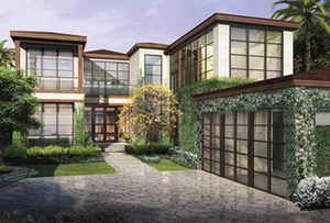 A rendering of 6440 North Bay Road