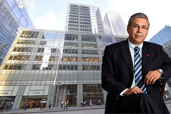 1120 Avenue of the Americas and Bank Hapoalim CEO Zion Kenan